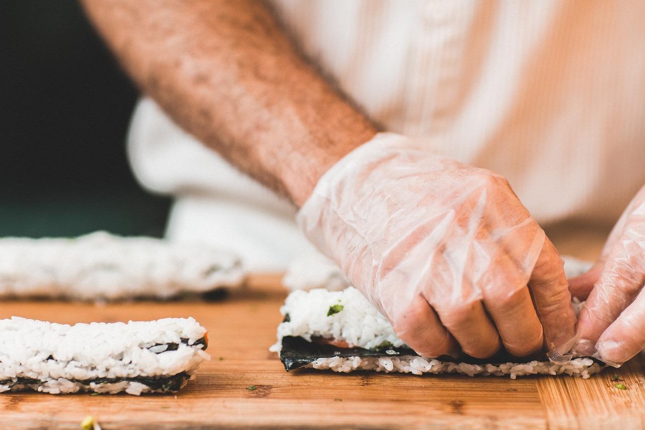 изготовление суши