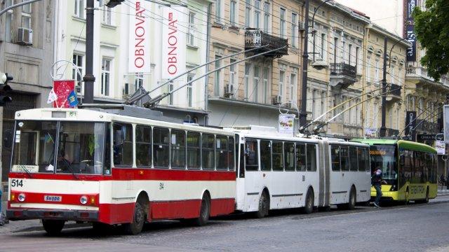 тролейбус у львові