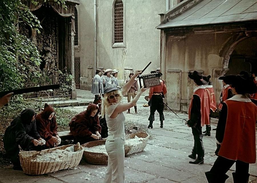зйомки мушкетерів