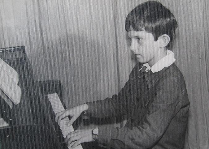 Андрій Кузьменко в дитинстві