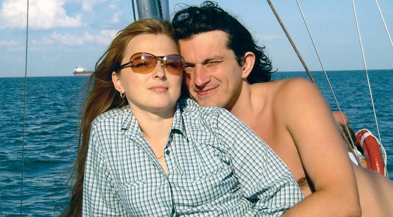 Андрій Кузьменко з дружиною