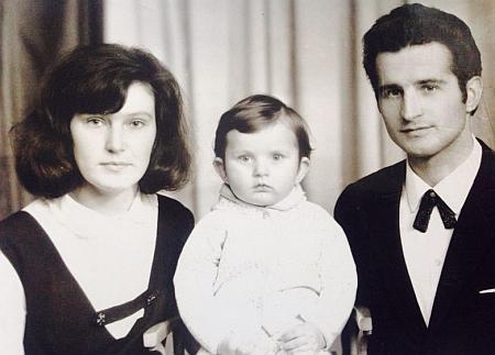 Андрій Кузьменко з батьками