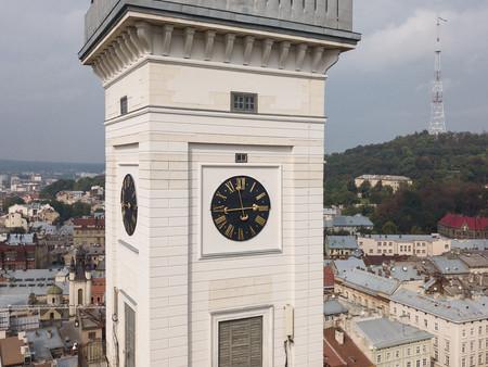 ратуша годинник